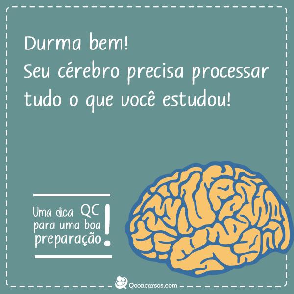Durma bem! Seu cérebro precisa processar tudo que você aprendeu!